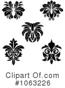 Flourish Clipart #1063226 by Vector Tradition SM