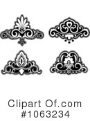Flourish Clipart #1063234 by Vector Tradition SM