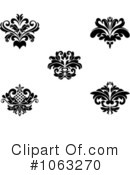 Flourish Clipart #1063270 by Vector Tradition SM