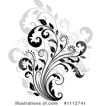 Flourish Clipart #1112741 by Vector Tradition SM