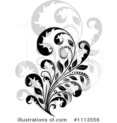 Flourish Clipart #1113556 by Vector Tradition SM