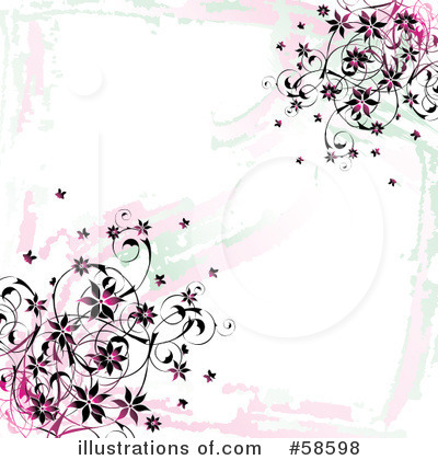 Flowers Clipart #58598 by MilsiArt