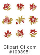 Flower Clipart #1093951 by elena
