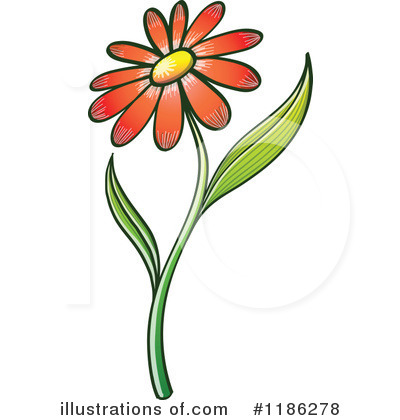 Daisies Clipart #1186278 by Zooco