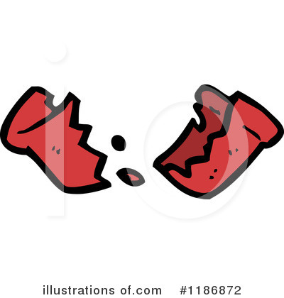 Broken Pot Clipart #1209438 - Illustration by lineartestpilot