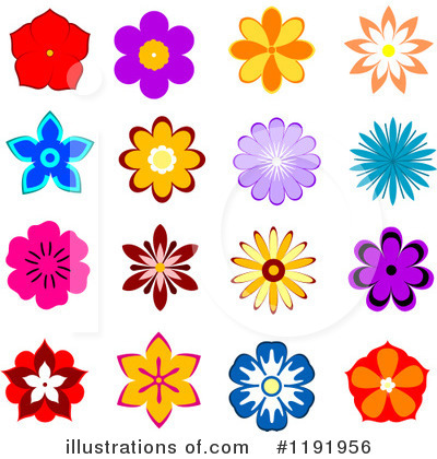 Daisy Clipart #1191956 by Vector Tradition SM