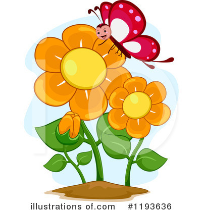 Butterfly Clipart #1193636 by BNP Design Studio