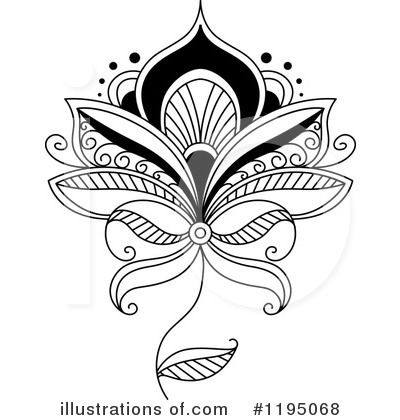 Floral Clipart #1195068 by Vector Tradition SM