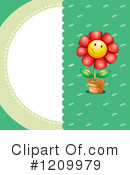 Flower Clipart #1209979 by Graphics RF