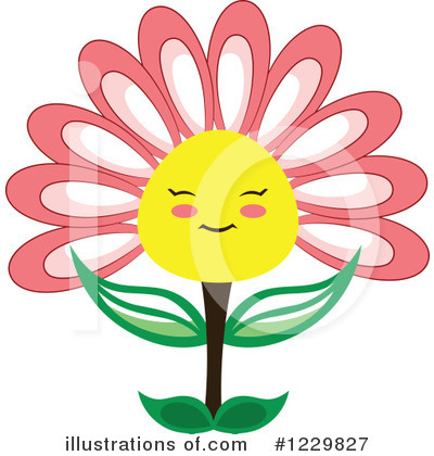 Floral Clipart #1229827 by Cherie Reve