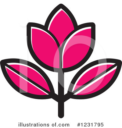 Flower Clipart #1231795 by Lal Perera