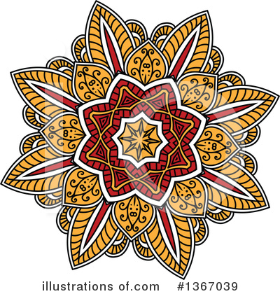 Flower Clipart #1367039 by Vector Tradition SM