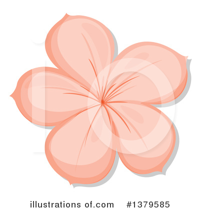 Flower Clipart #1379585 by Graphics RF