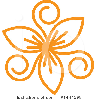 Flower Clipart #1444598 by ColorMagic