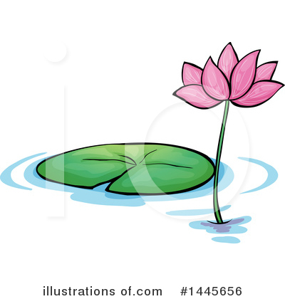 Water Lily Clipart #1445656 by Graphics RF