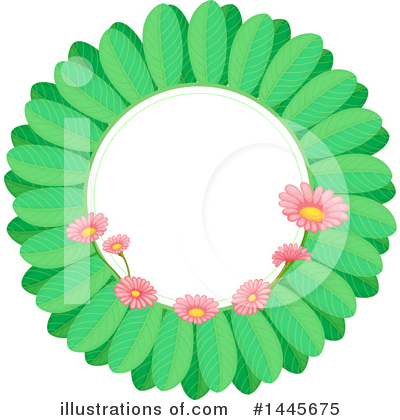 Royalty-Free (RF) Flower Clipart Illustration by Graphics RF - Stock Sample #1445675