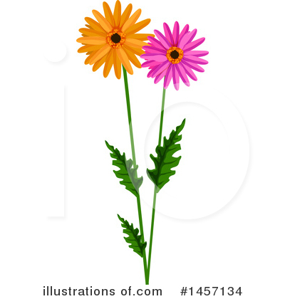 Daisy Clipart #1457134 by Vector Tradition SM