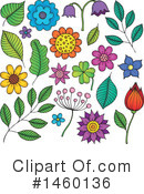 Flower Clipart #1460136 by visekart