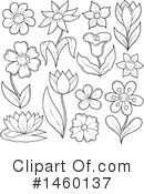 Flower Clipart #1460137 by visekart
