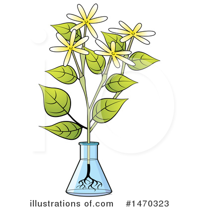 Flower Clipart #1470323 by Lal Perera