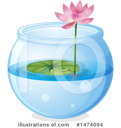 Water Lily Clipart #1474094 by Graphics RF