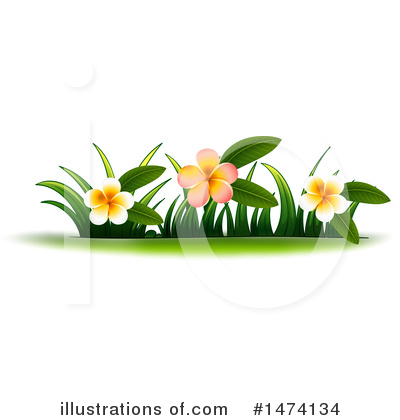 Royalty-Free (RF) Flower Clipart Illustration by Graphics RF - Stock Sample #1474134