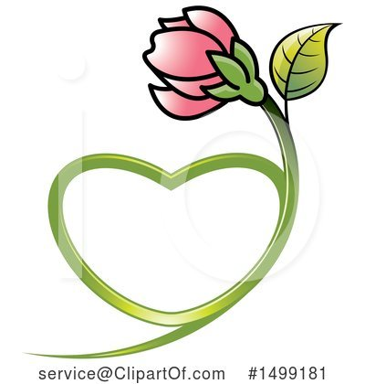 Flower Clipart #1499181 by Lal Perera