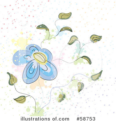 Flowers Clipart #58753 by MilsiArt