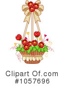 Royalty-Free (RF) Flowers Clipart Illustration #1057696
