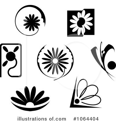 Daisy Clipart #1064404 by Vector Tradition SM