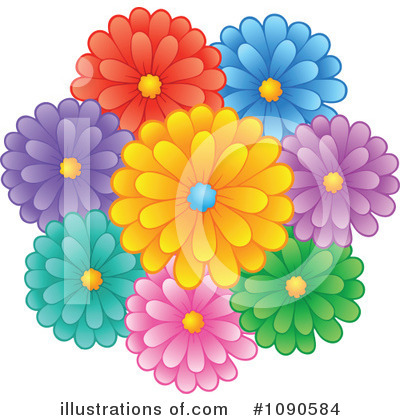 Daisy Clipart #1090584 by visekart