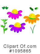Flowers Clipart #1095865 by bpearth