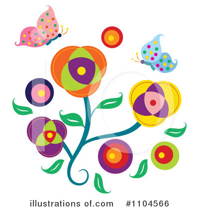 Flower Clipart #1104566 by Cherie Reve