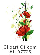 Royalty-Free (RF) Flowers Clipart Illustration #1107725