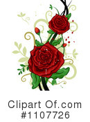 Royalty-Free (RF) Flowers Clipart Illustration #1107726