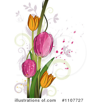 Royalty-Free (RF) Flowers Clipart Illustration by BNP Design Studio - Stock Sample #1107727