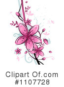 Royalty-Free (RF) Flowers Clipart Illustration #1107728