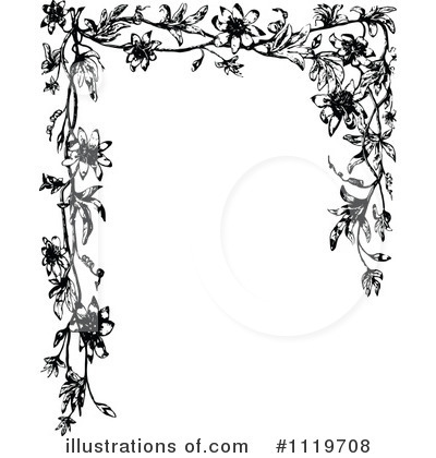 Floral Clipart #1119708 by Prawny Vintage