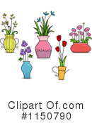 Royalty-Free (RF) Flowers Clipart Illustration #1150790