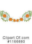 Flowers Clipart #1166880 by Graphics RF