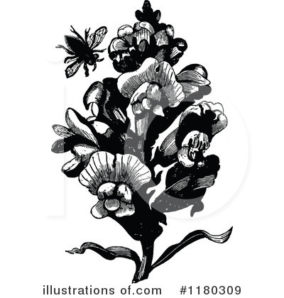 Bee Clipart #1180309 by Prawny Vintage