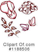 Flowers Clipart #1188506 by Cherie Reve
