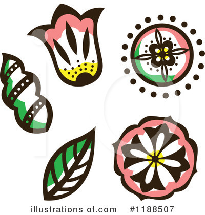 Leaf Clipart #1188507 by Cherie Reve