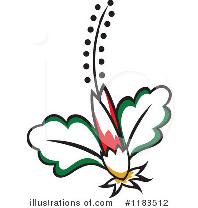Floral Clipart #1188512 by Cherie Reve