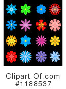 Flowers Clipart #1188537 by Vector Tradition SM