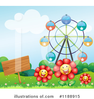 Amusement Park Clipart #1188915 by Graphics RF