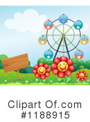 Flowers Clipart #1188915 by Graphics RF