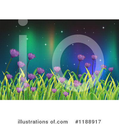 Northern Lights Clipart #1188917 by Graphics RF