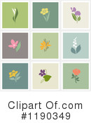 Flowers Clipart #1190349 by elena