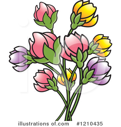 Flower Clipart #1210435 by Lal Perera